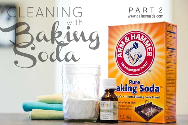 Cleaning with baking soda, part 2