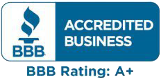 A+ Rated by the BBB