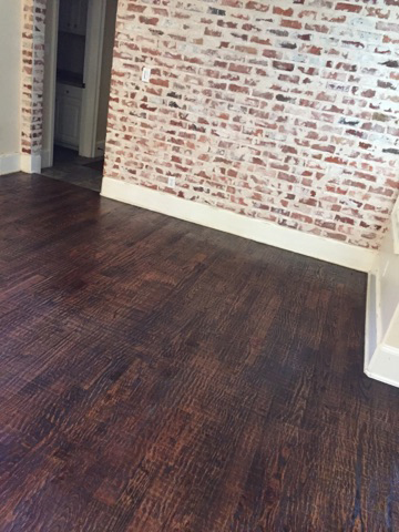 hardwood floor repair living room after