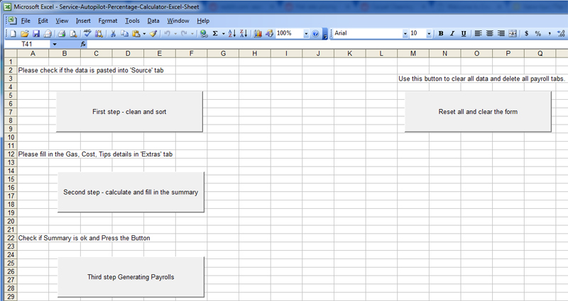 service autopilot excel commission payroll calculator dallas maids